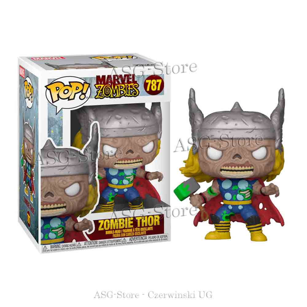 Funko Pop Marvel 787 Zombie Thor