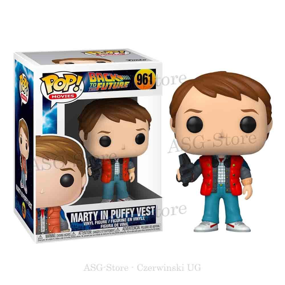 Funko Pop Movies 961 Back to the Future Marty in Puffy Vest