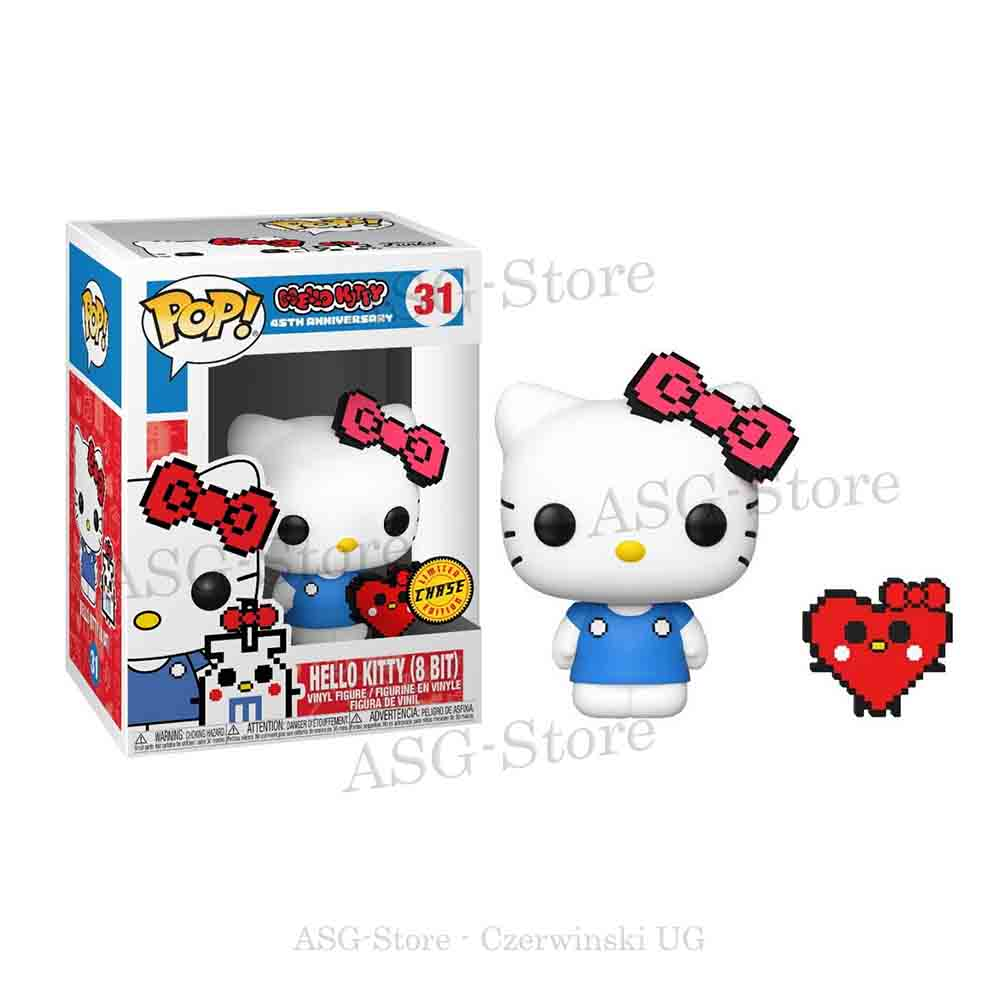 Funko Pop Animation 31 Hello Kitty (8Bit) Chase