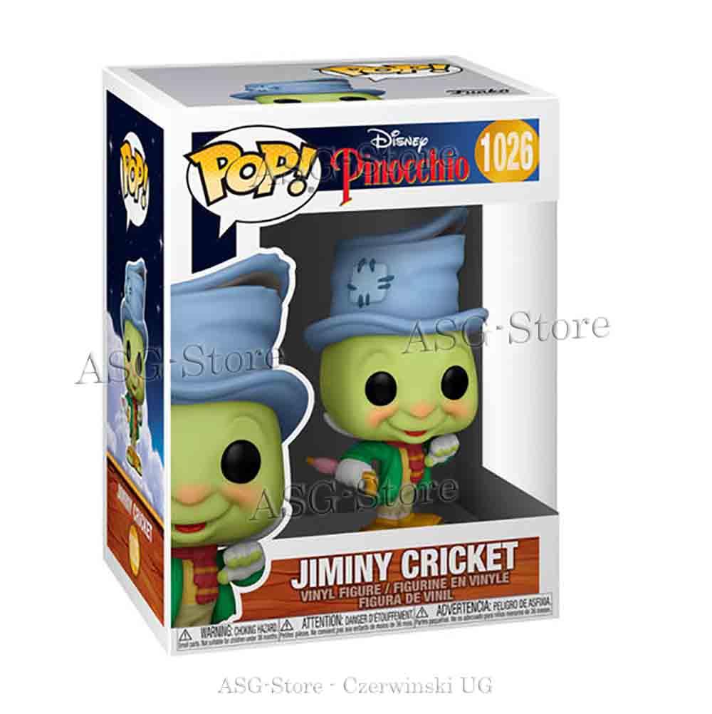 Funko Pop Disney 1026 Pinocchio Street Jiminy Cricket