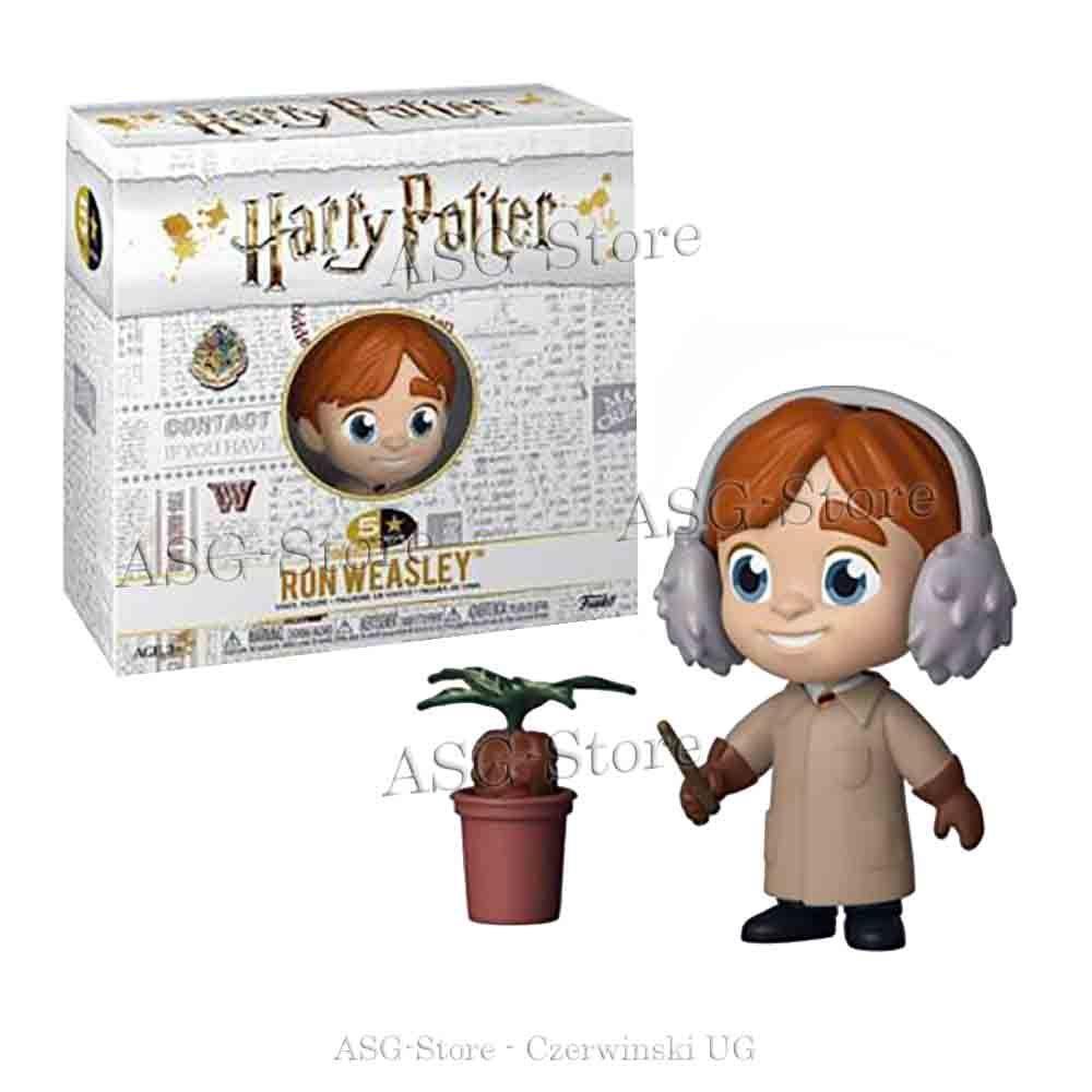 Funko 5 Star Figur Harry Potter Ron Weasley Alraunen