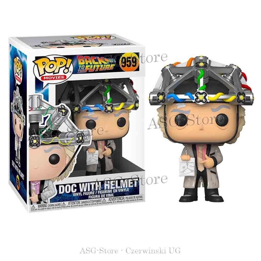 Funko Pop Movies 959 Back to the Future Doc with Helmet