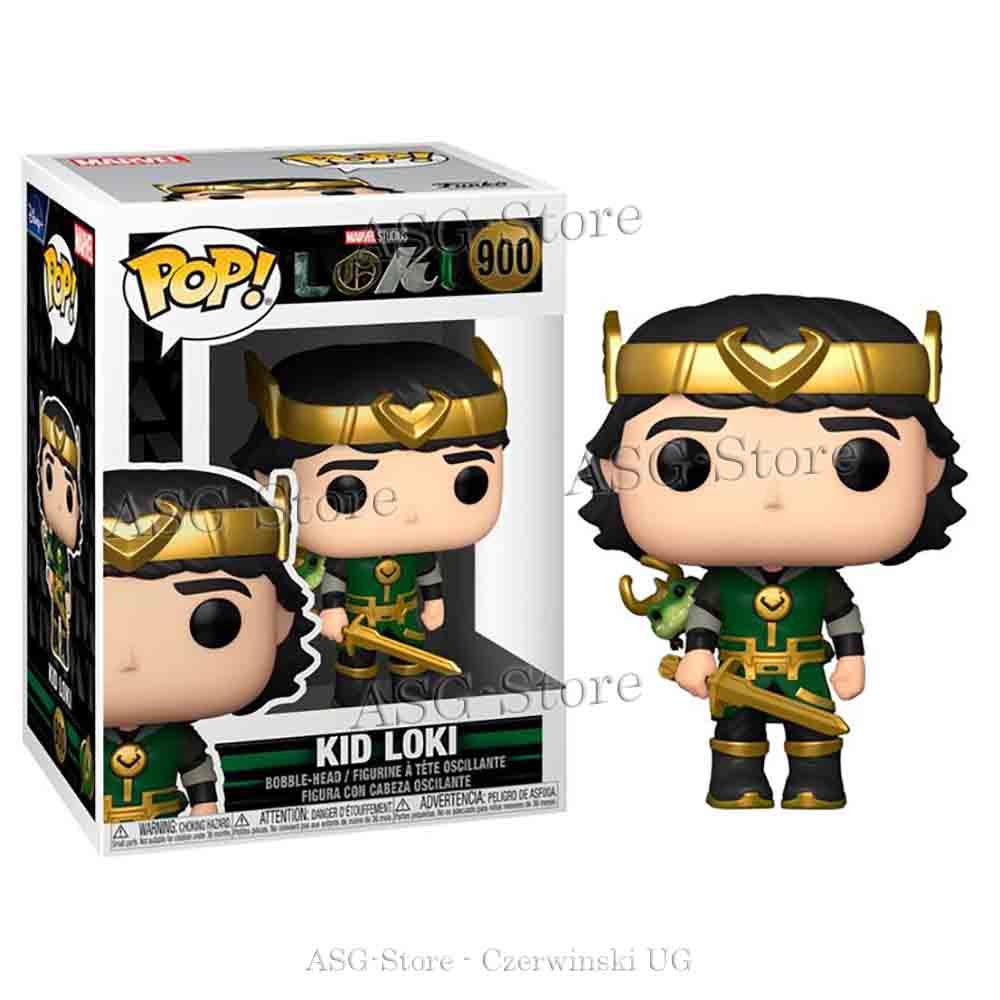 Funko Pop Marvel 900 Loki Kid Loki