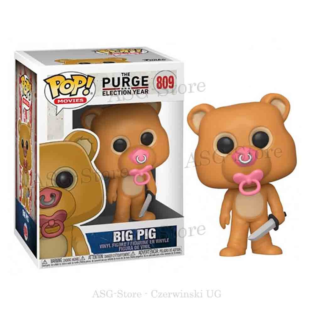 Funko Pop Movies 809 The Purge Election Year Big Pig