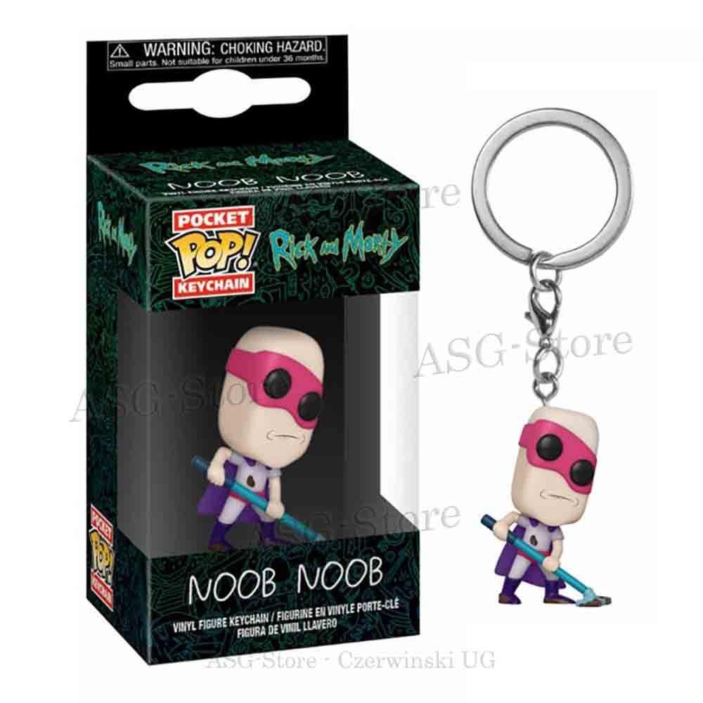 Funko Pocket Pop Keychain Rick and Morty Noob Noob