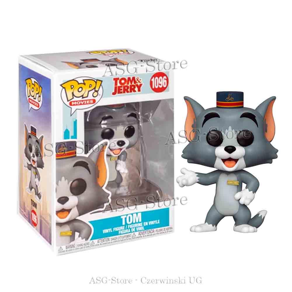Funko Pop Movies 1096 Tom & Jerry - Tom mit Hut