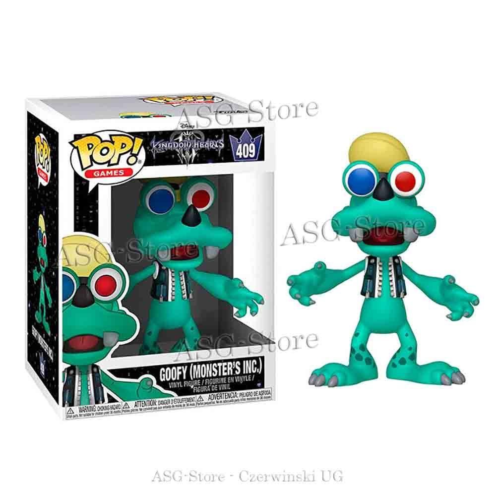 Funko Pop Disney 409 Kingdom Hearts  Goofy Monsters