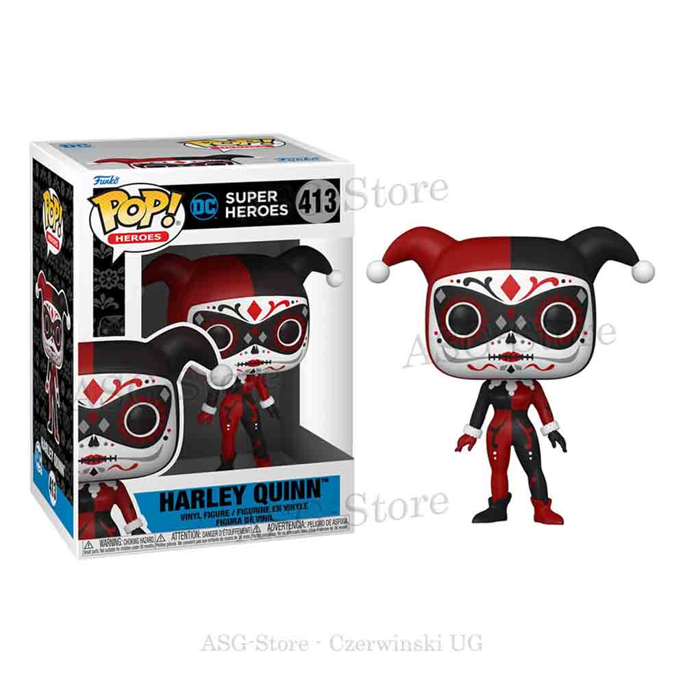 Funko Pop Heroes 413 Dia De Los Harley Quinn
