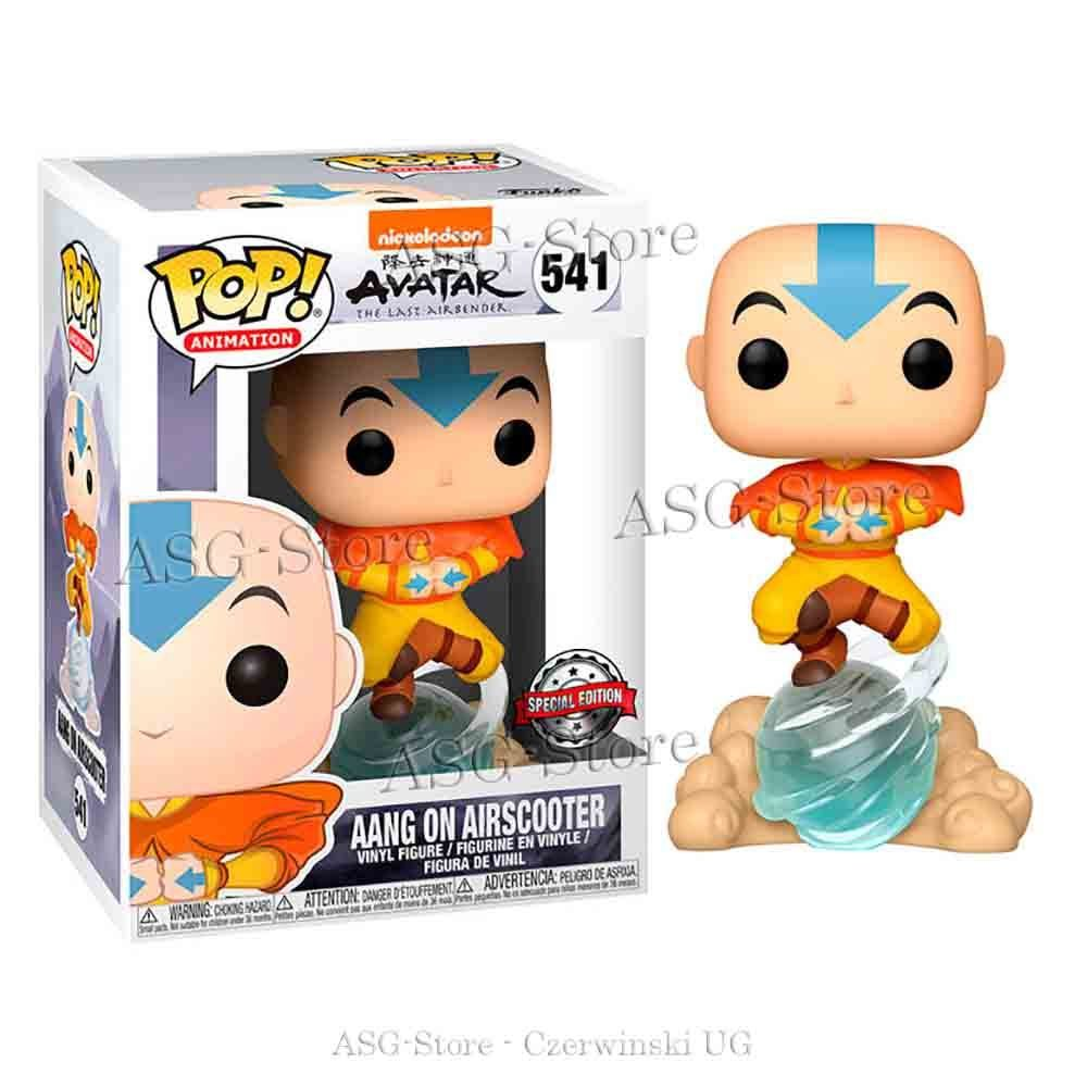 Funko Pop Animation 541 Aang on Airscooter Special Edition