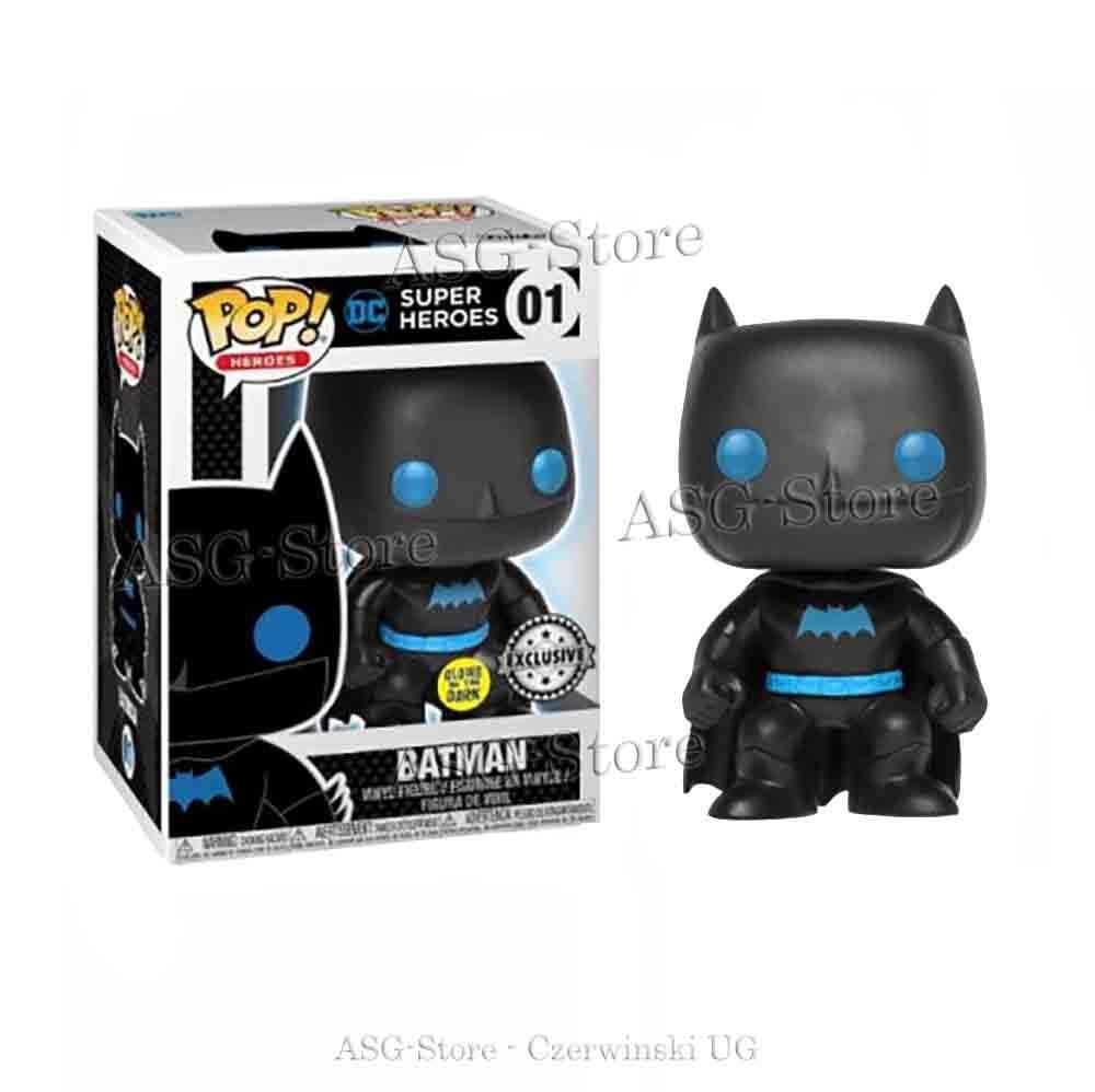 Funko Pop Heroes 01 DC Batman Gitd Exclusive