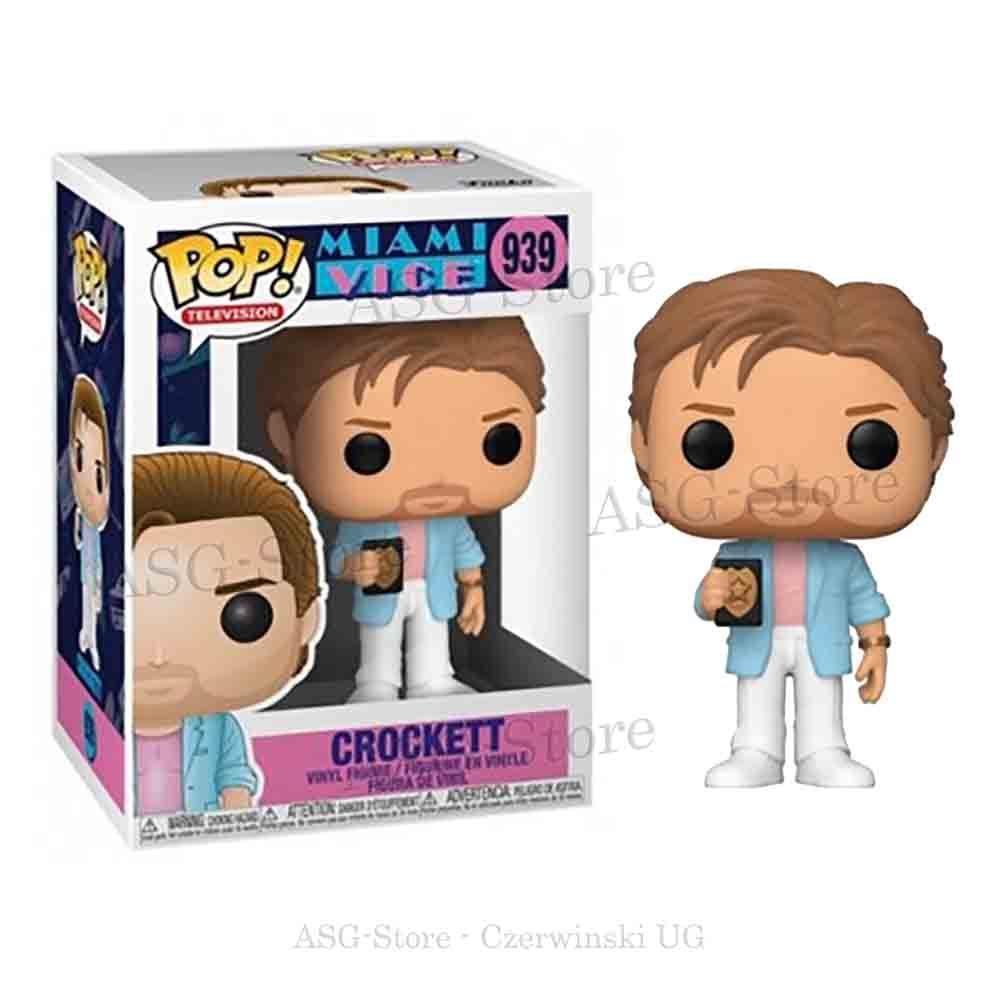 Funko Pop Television 939 Miami Vice Crockett
