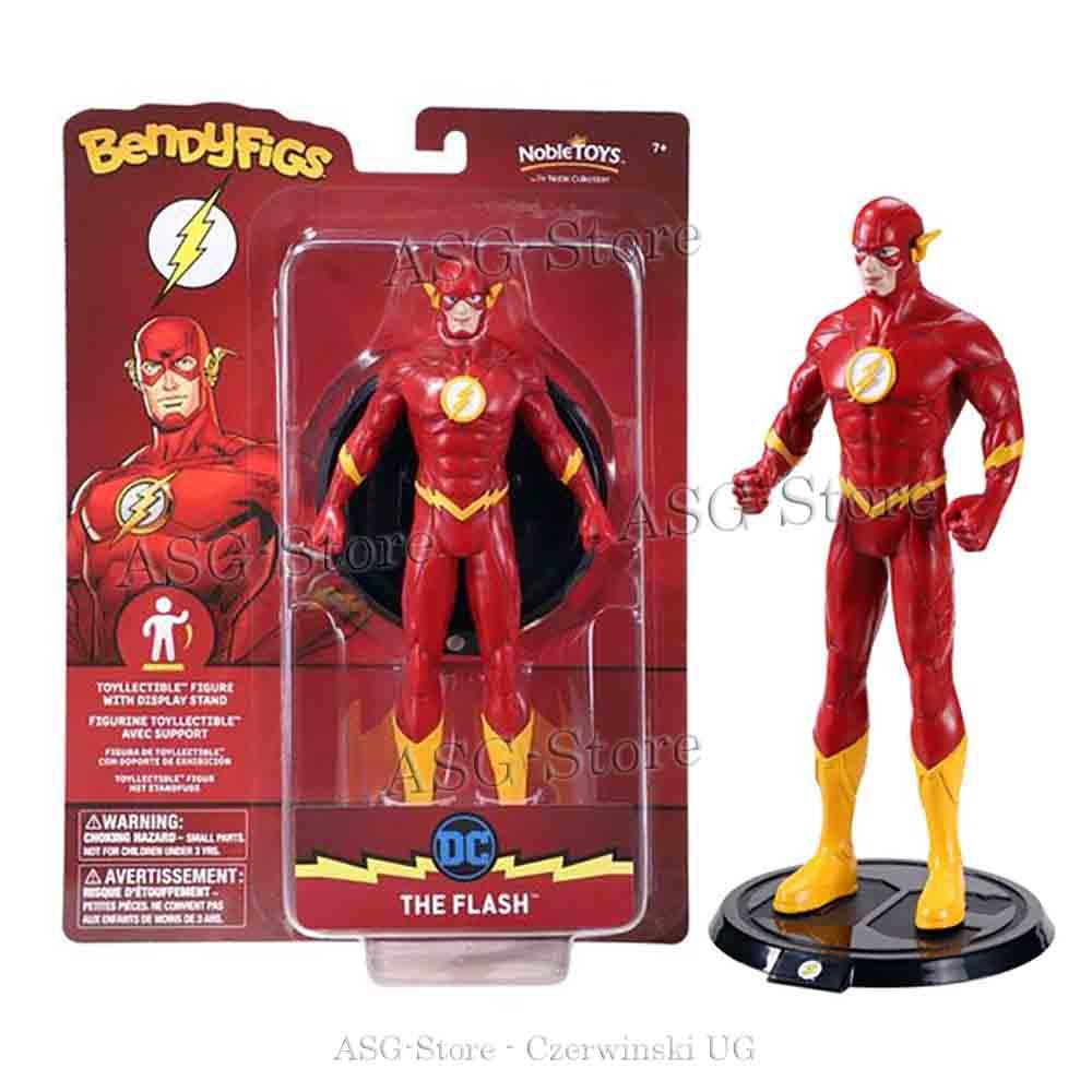 DC Comics - Flash als Bendyfigs Biegefigur