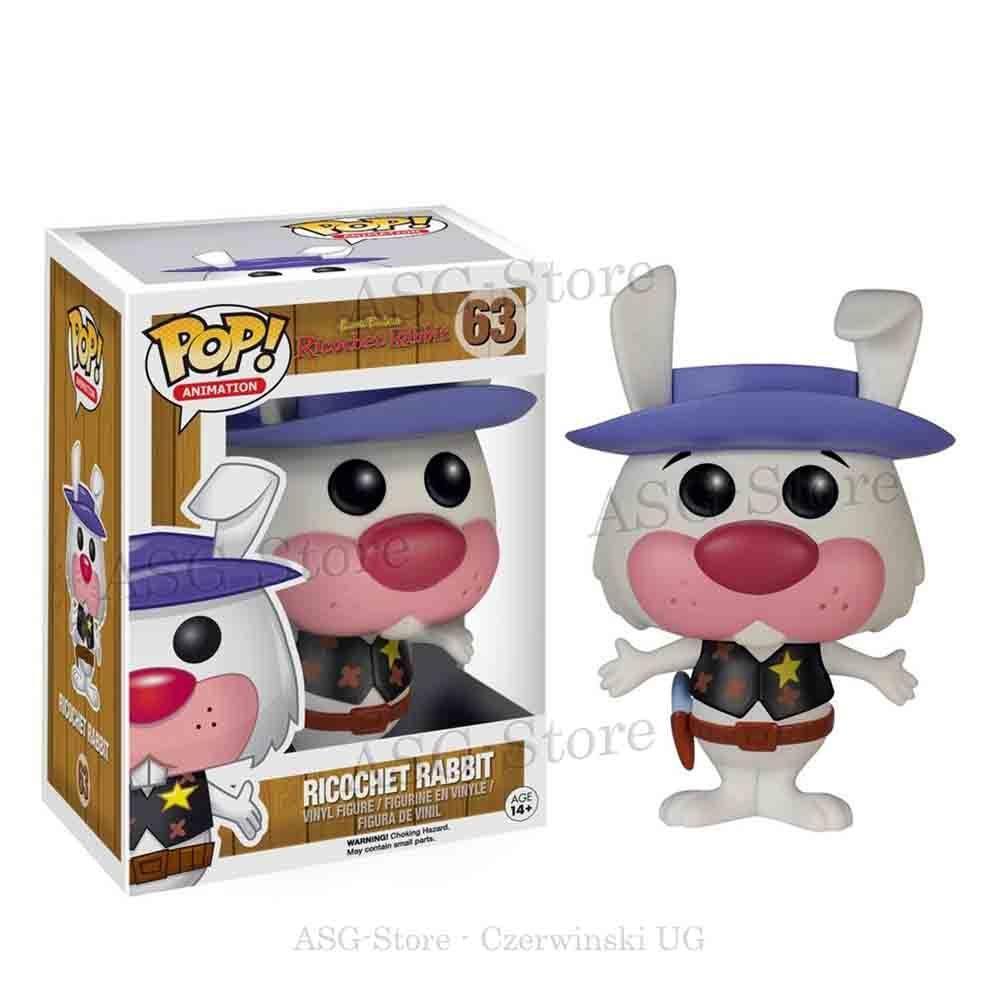 Funko Pop Animation 63 Hanna Barbera Ricochet Rabbit