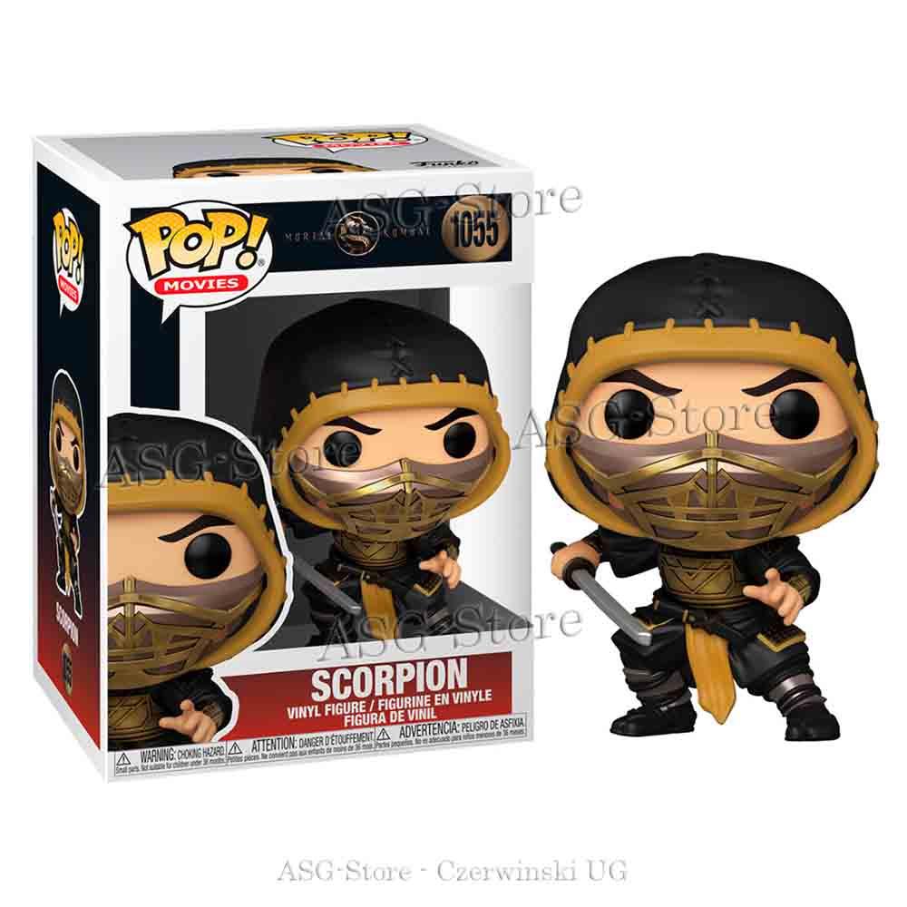 Funko Pop Movies 1055 Mortal Kombat Scorpion