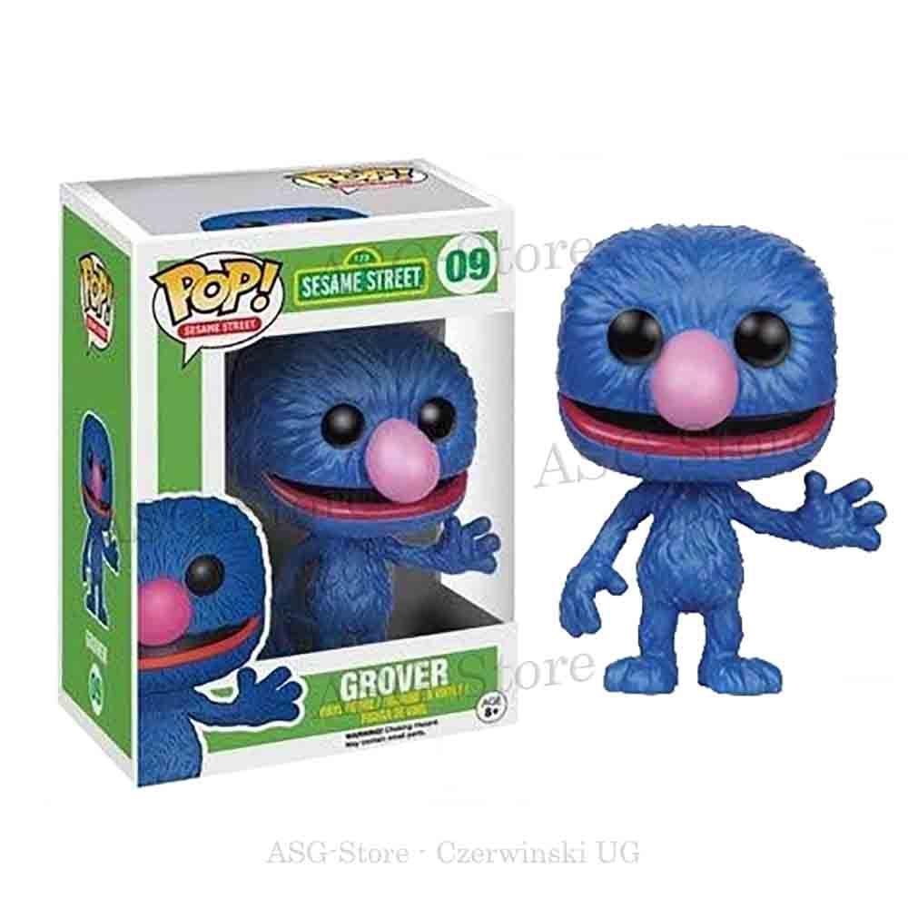 Funko Pop Animation 09 Sesamstraße Grobi (Grover)