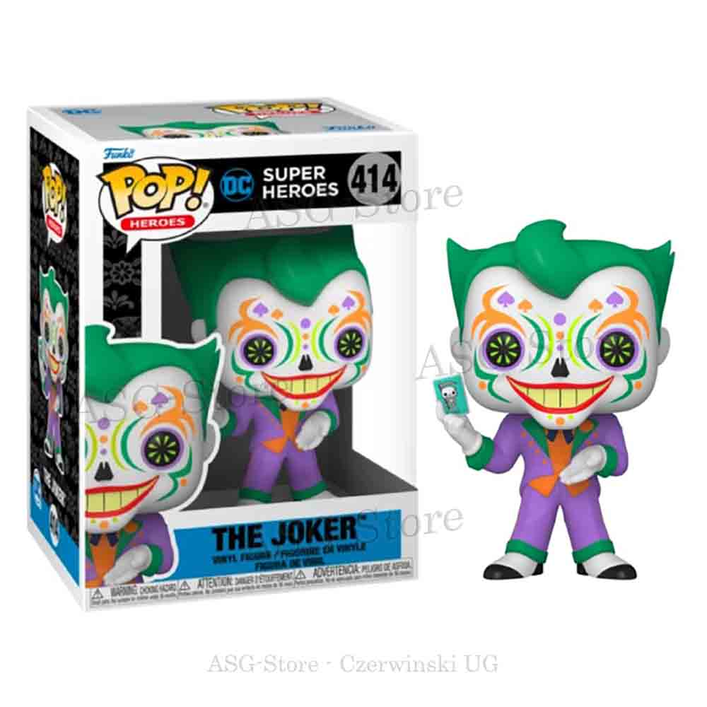 Funko Pop Heroes 414 Dia De Los Joker