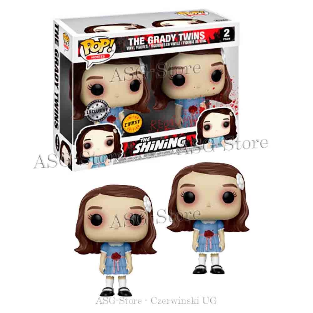 Funko Pop Movies The Grady Twins 2 Pack Chase Exclusive