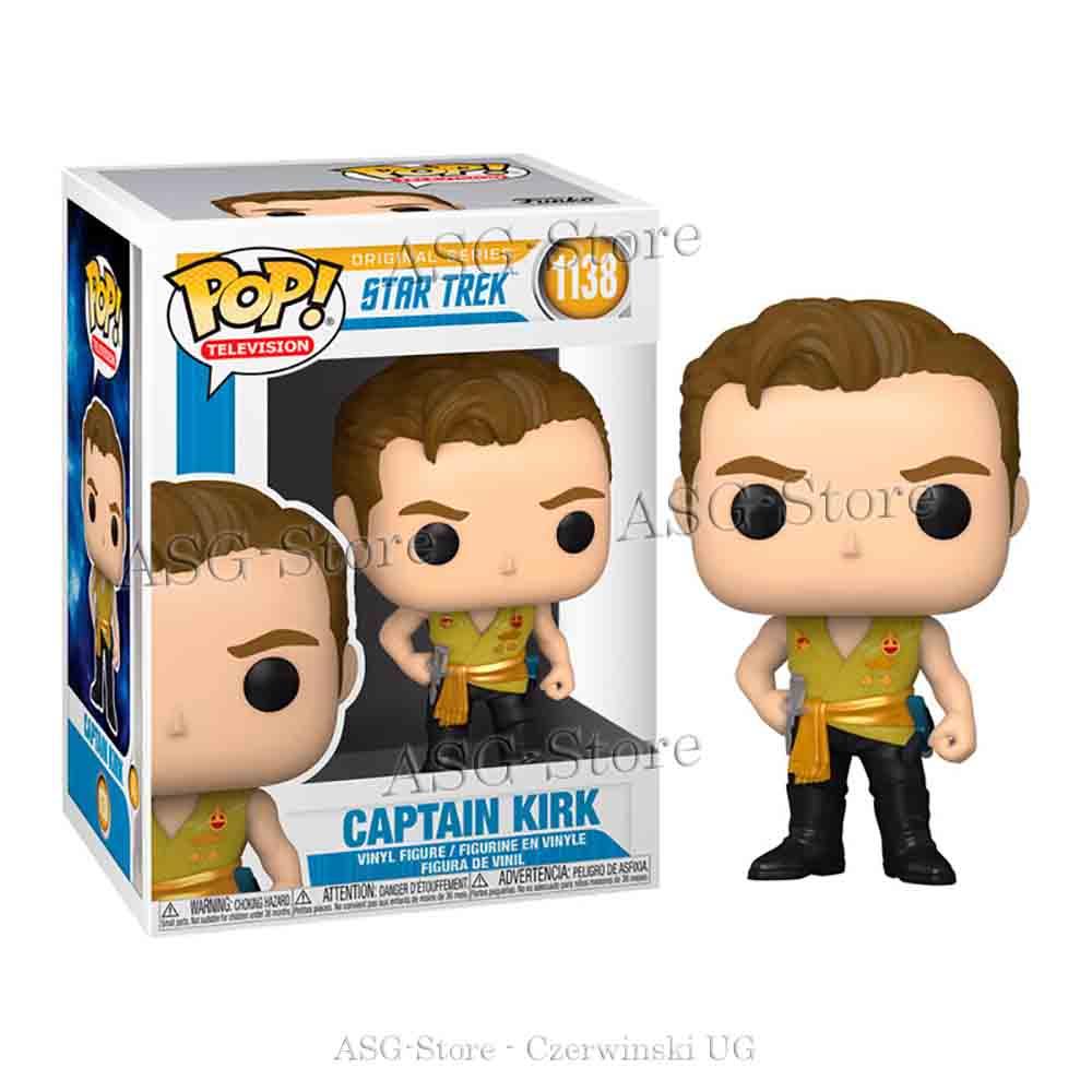 Funko Pop Television 1138 Star Trek Captain Kirk im Mirror Outfit