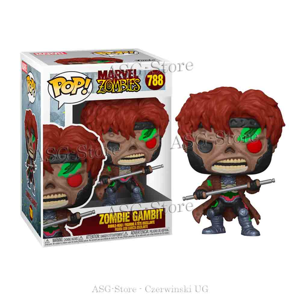 Funko Pop Marvel 788 Zombie Gambit