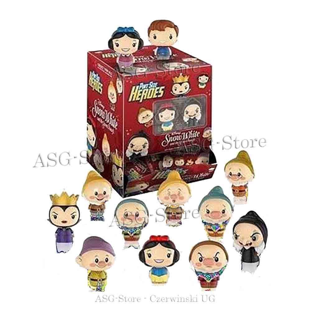 Schneewittchen & 7 Zwerge mini Figuren von Funko Pint Size Heroes