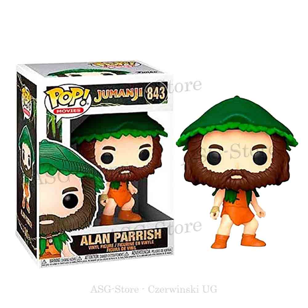 Funko Pop Movies 843 Jumanji Alan Parrish