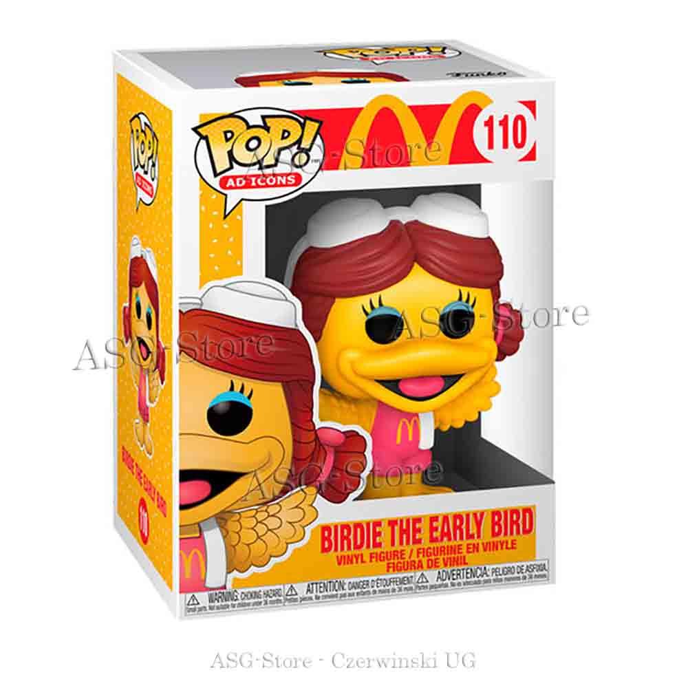 Funko Pop Ad Icons 110 Mc Donald Birdie The Eraly Bird