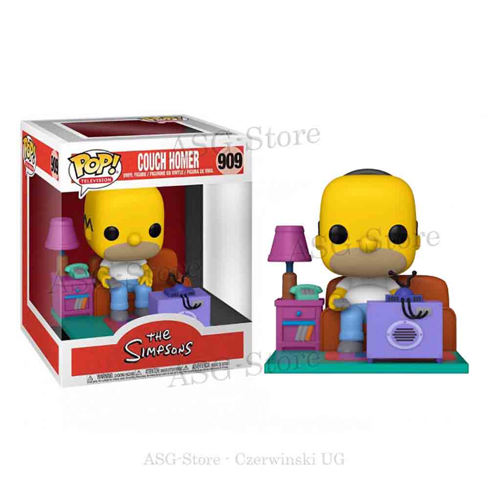 Funko Pop Television 909 Die Simpsons Couch Homer