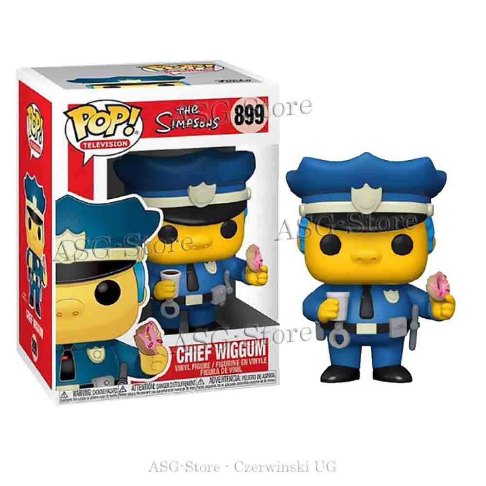 Funko Pop Television 899 Die Simpsons Chief Wiggum mit Dounat