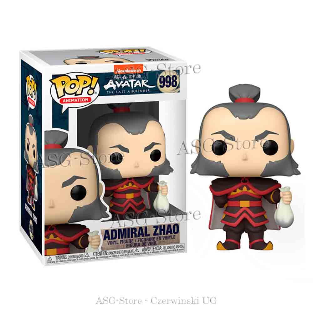 Funko Pop Animation 998 Avatar Admiral Zhao