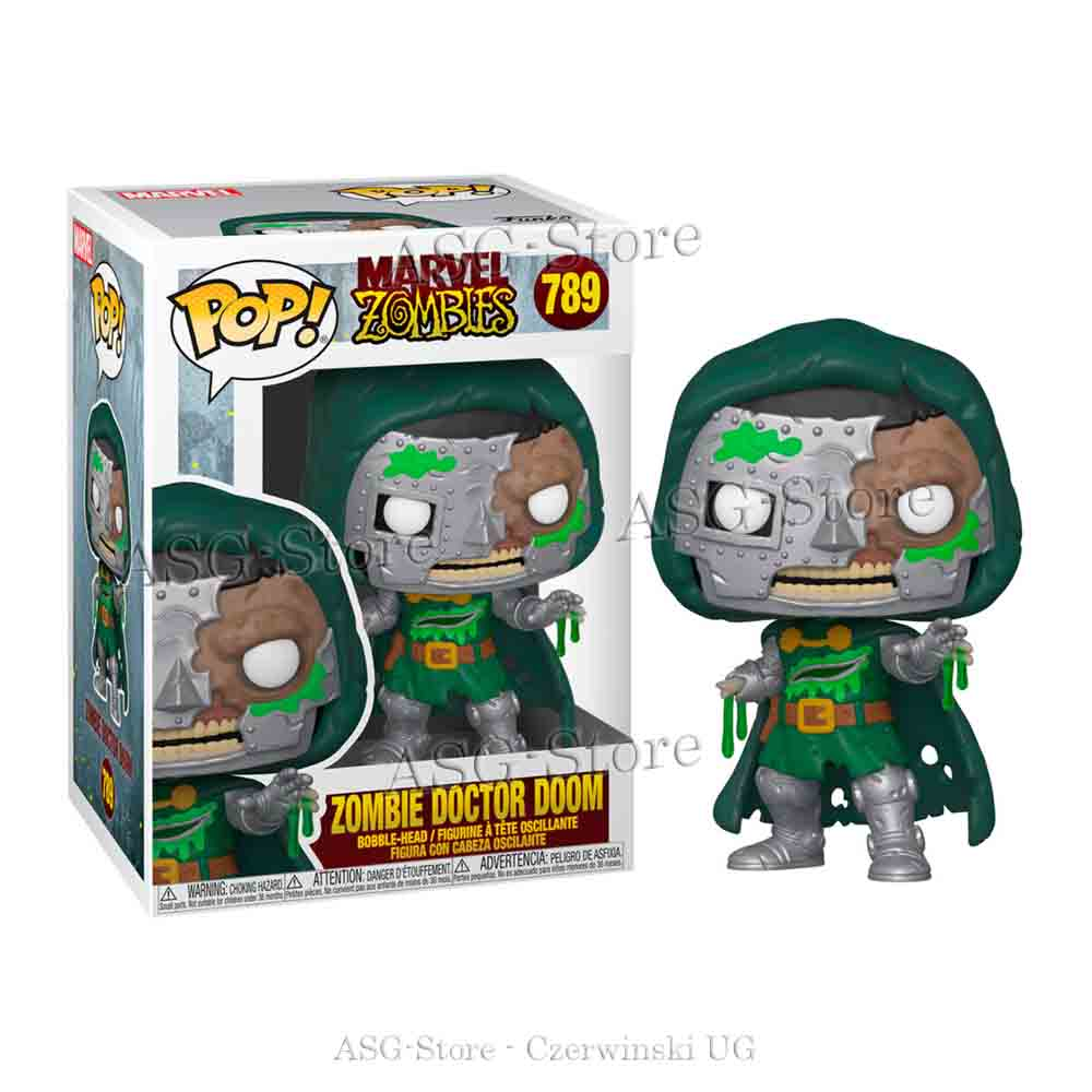 Funko Pop Marvel 789 Zombie Doctor Doom