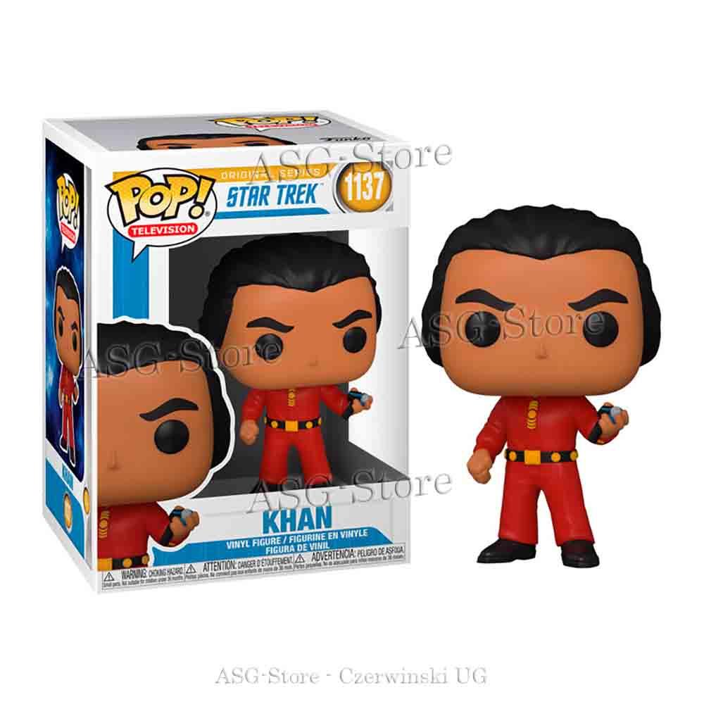 Funko Pop Television 1137 Star Trek Khan