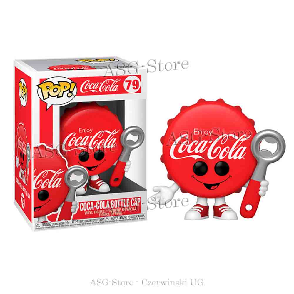 Funko Pop Ad Icons 79 Coca-Cola Bottle Cap
