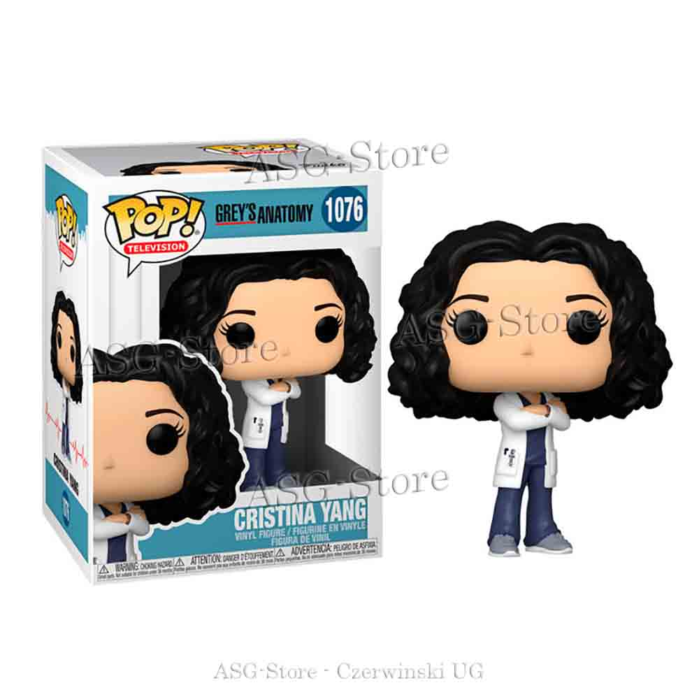 Funko Pop Television 1076 Grey´s Anatomy Christina Yang