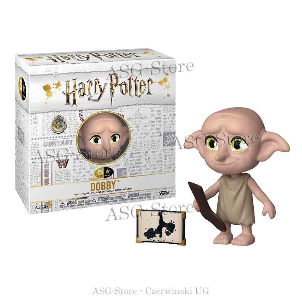 Funko 5 Star Figur Harry Potter Dobby mit Buch und Socken