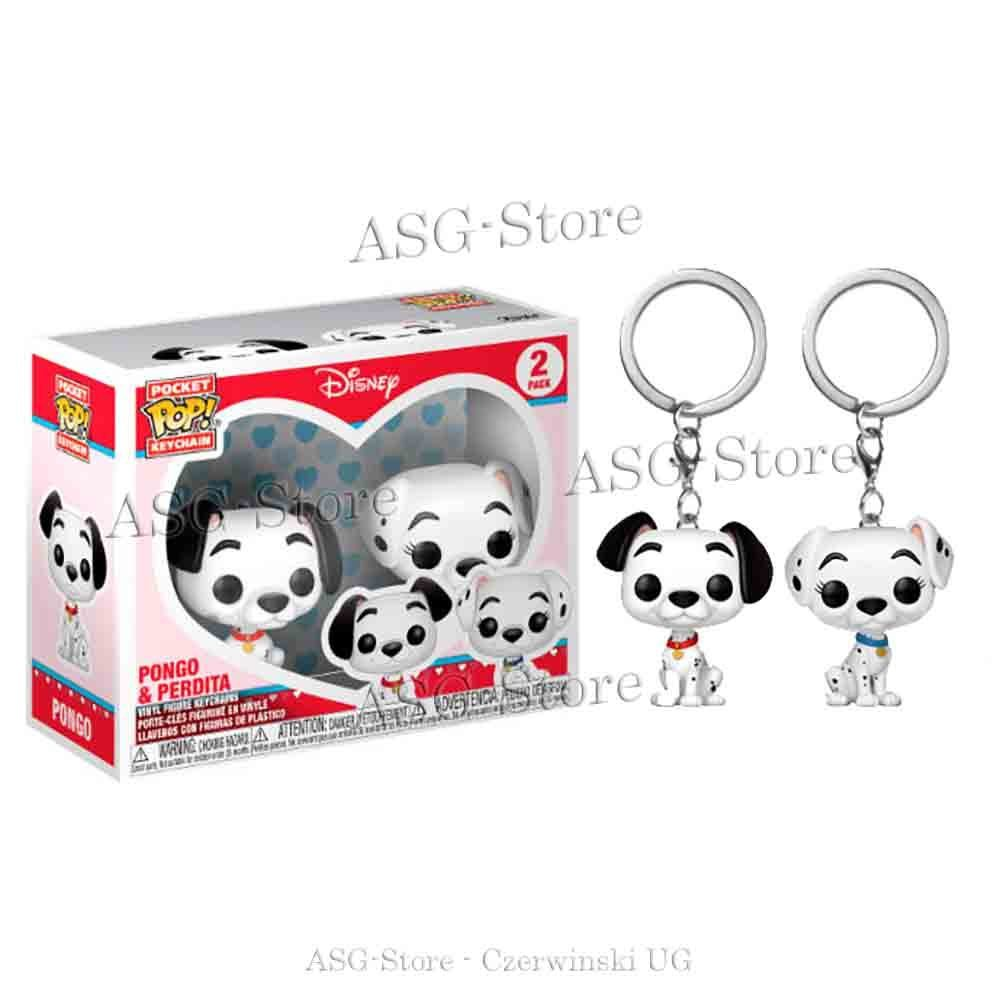 Funko Pocket Pop Keychain Disney Pongo & Perdita