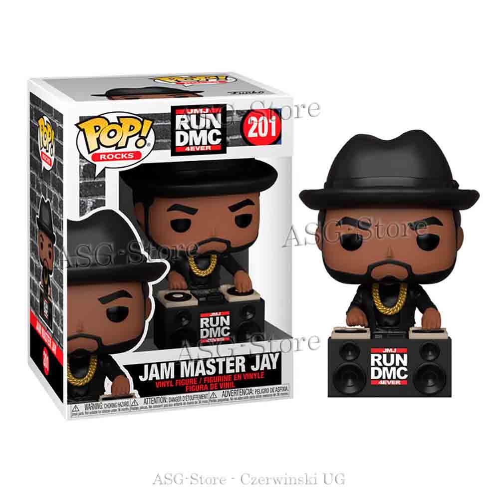 Funko Pop Rocks 201 RUN DMC 4 Ever Jam Master Jay
