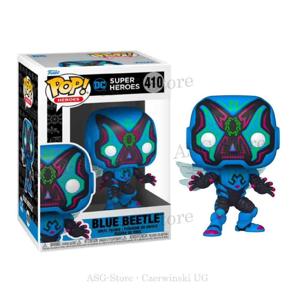 Funko Pop Heroes 410 Dia De Los Blue Beetle