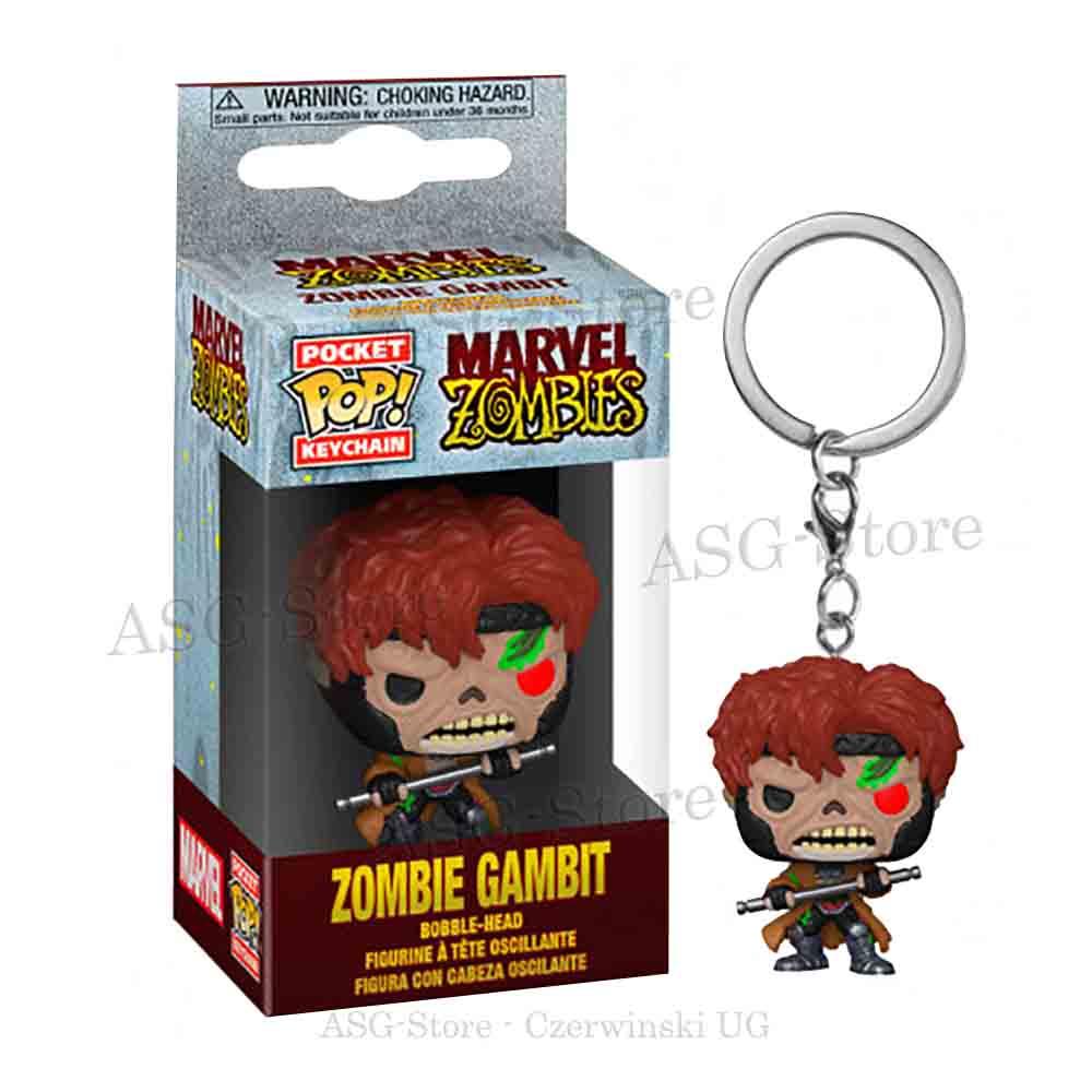 Funko Pocket Pop Keychain Marvel Zombies Zombie Gambit