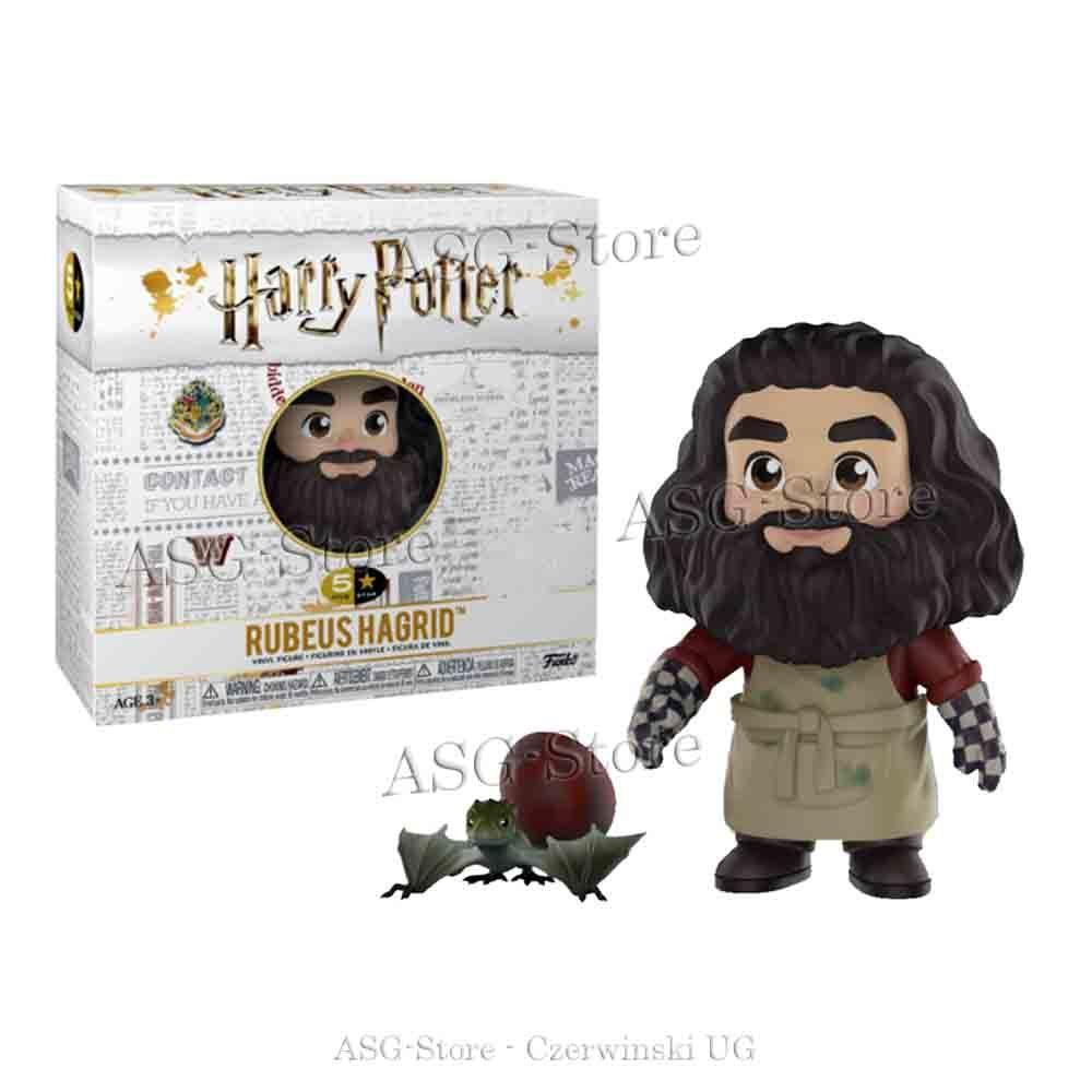 Funko 5 Star Figur Harry Poster Rubeus Hagrid mit Ei und Drache