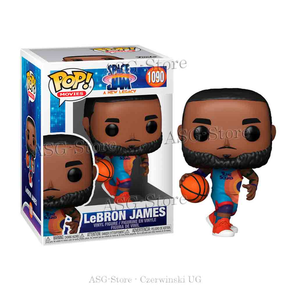 Funko Pop Movies 1090 Space Jam 2 LeBron James