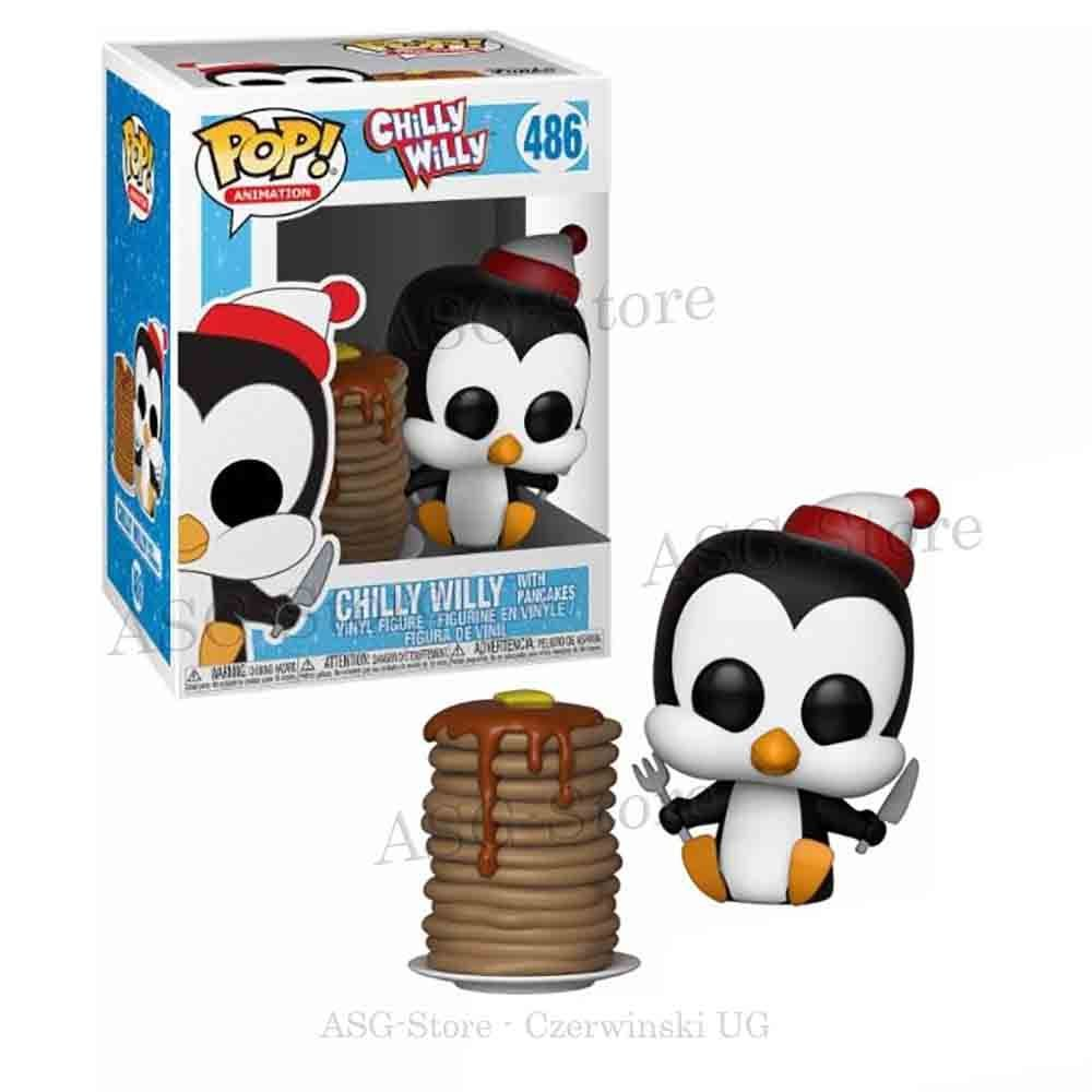 Funko Pop Animation 486 Chilly Willy with Pancakes