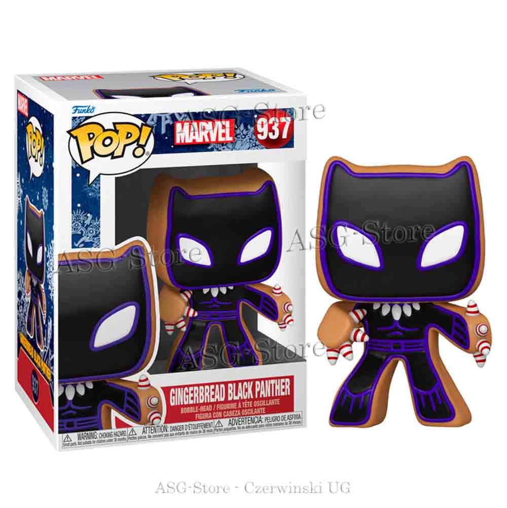 Funko Pop Marvel Holiday 937 Gingerbread Black Panter