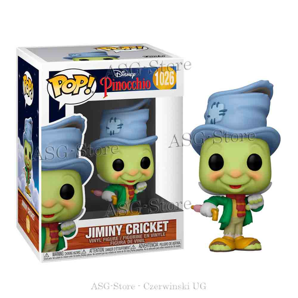 Funko Pop Disney 1026 Pinocchio Street Jiminy Cricket
