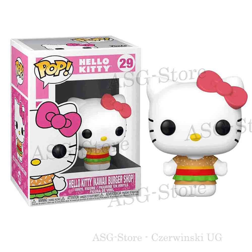 Funko Pop Animation 29 Hello Kitty Kawaii Burger Shop