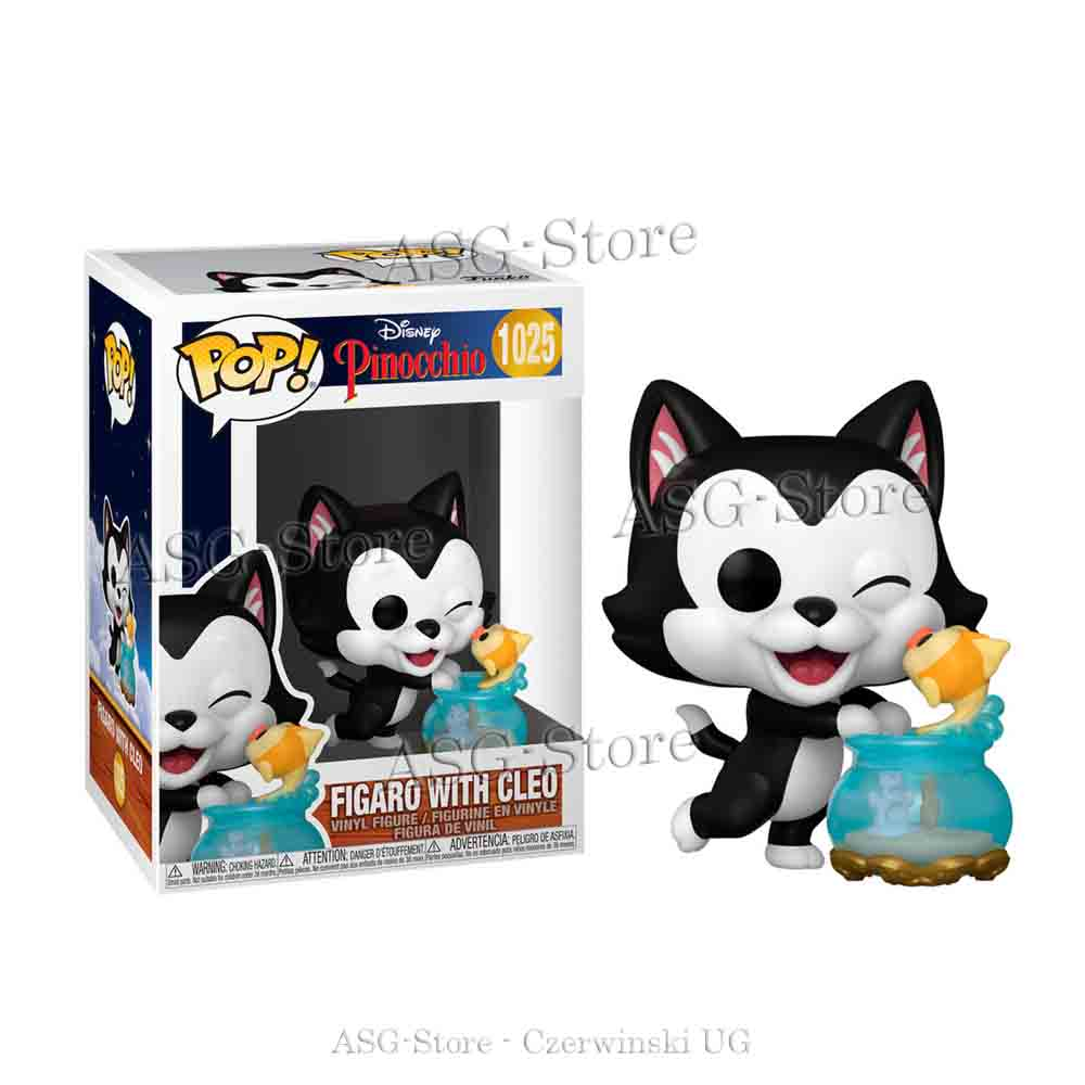 Funko Pop Disney 1025 Pinocchio Figaro with Cleo