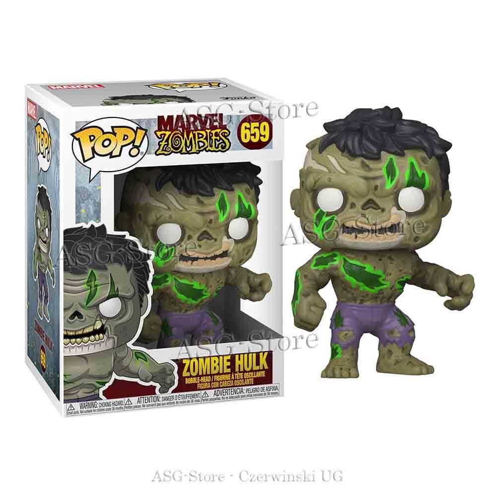 Funko Pop Marvel 659 Zombie Hulk