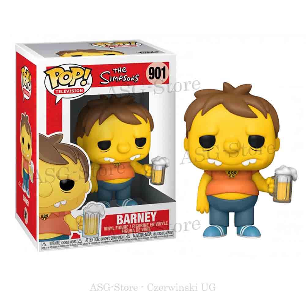 Funko Pop Television 901 Die Simpsons Barney mit Bierkrug