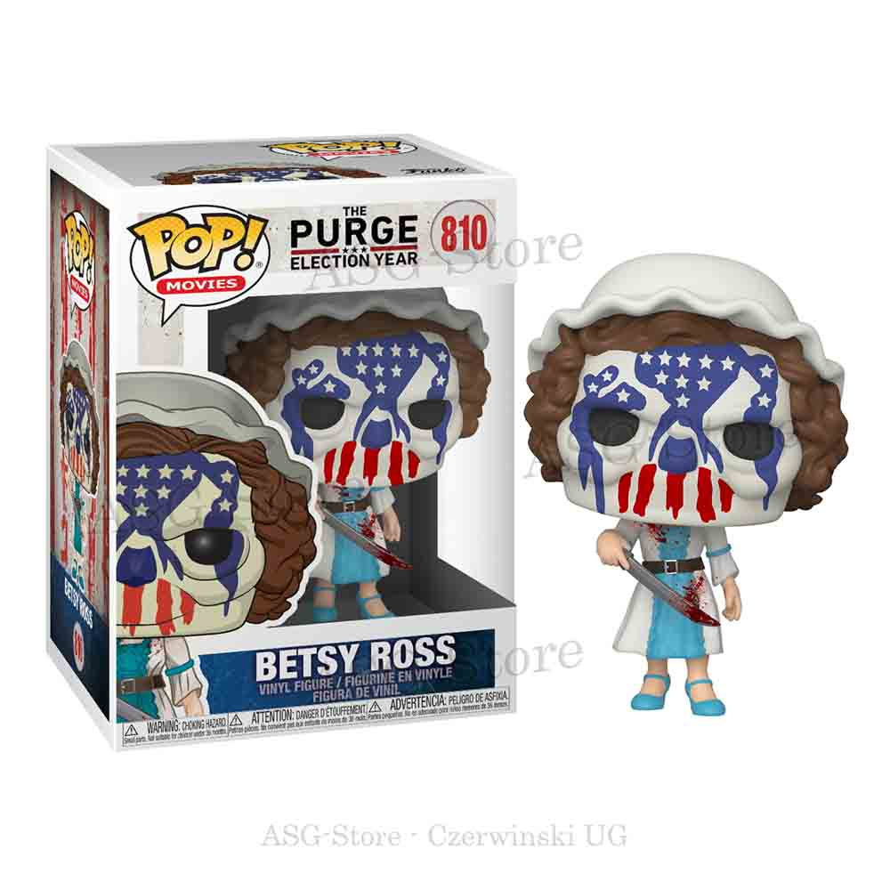 Funko Pop Movies 810 The Purge Election Year Betsy Ross