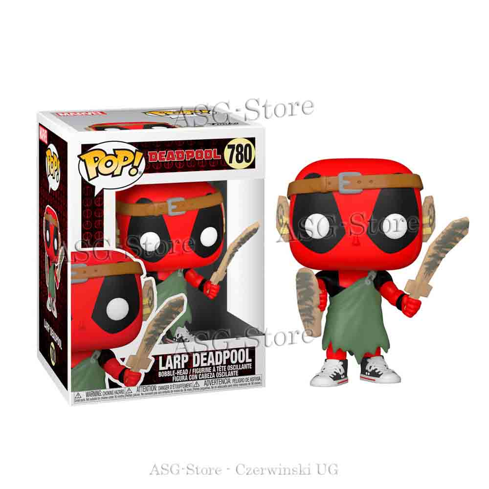 Funko Pop Marvel 780 Deadpool 30th Larp Deadpool