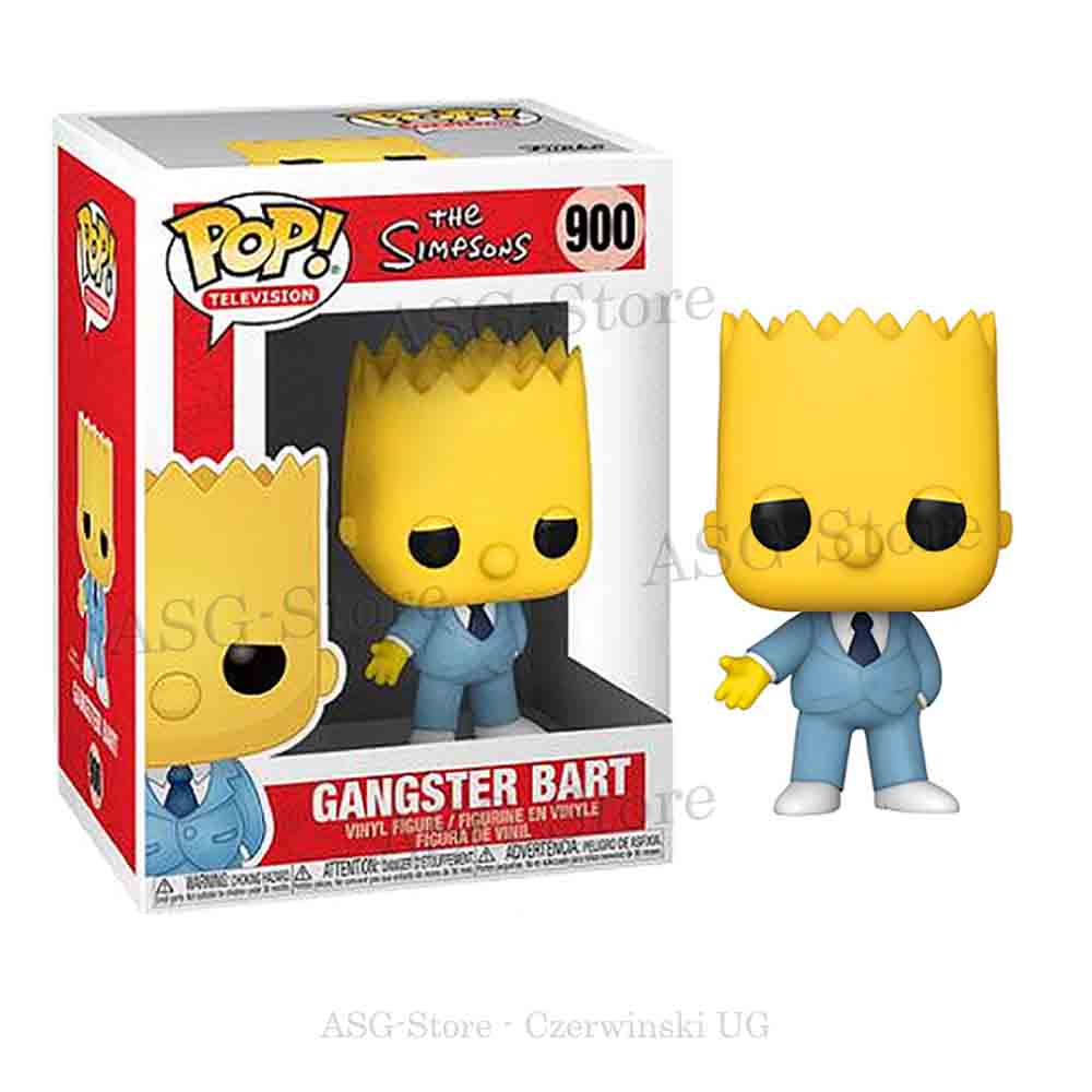 Funko Pop Television 900 The Simpsons Gangster Bart